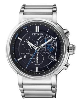 Citizen Herren Chronograph Solar Uhr mit Edelstahl Armband BZ1001-86E - 1