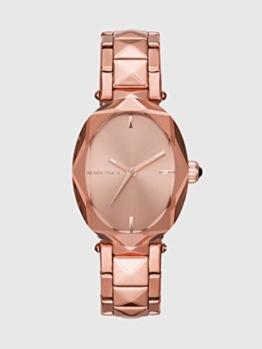 Diesel Damen Analog Quarz Uhr mit Edelstahl Armband DZ5580 - 1