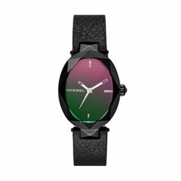 Diesel Damen Analog Quarz Uhr mit Leder Armband DZ5578 - 1