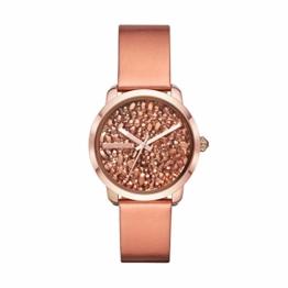 Diesel Damen-Armbanduhr Analog Quarz One Size, rosé, rosé - 1