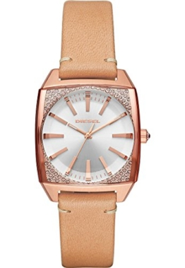 Diesel Damen-Armbanduhr Quarz One Size, braun, rosé - 1