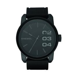 Diesel Herren Analog Quarz Smart Watch Armbanduhr mit Silikon Armband DZ1446 - 1