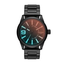 Diesel Herren Analog Quarz Uhr mit Edelstahl Armband DZ1844 - 1