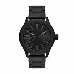 Diesel Herren Analog Quarz Uhr mit Edelstahl Armband DZ1873 - 1