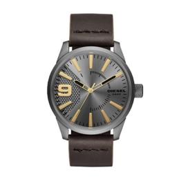 Diesel Herren Analog Quarz Uhr mit Leder Armband DZ1843 - 1