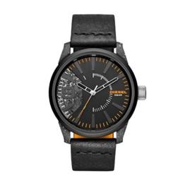 Diesel Herren Analog Quarz Uhr mit Leder Armband DZ1845 - 1