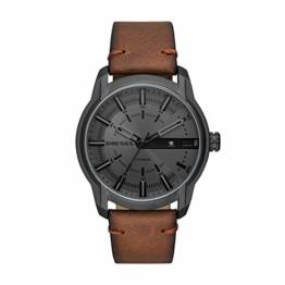 Diesel Herren Analog Quarz Uhr mit Leder Armband DZ1869 - 1