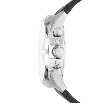 Diesel Herren Analog Quarz Uhr mit Leder Armband DZT1010 - 2