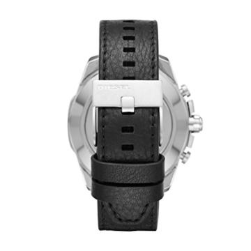 Diesel Herren Analog Quarz Uhr mit Leder Armband DZT1010 - 3