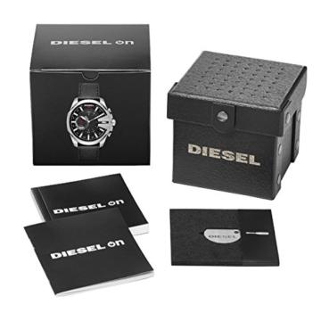 Diesel Herren Analog Quarz Uhr mit Leder Armband DZT1010 - 4