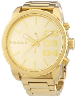 Diesel Herren-Armbanduhr XL Chronograph Quarz Edelstahl beschichtet DZ4268 - 1