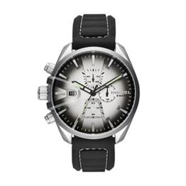 Diesel Herren Chronograph Quarz Smart Watch Armbanduhr mit Silikon Armband DZ4483 - 1