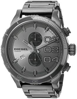 Diesel Herren Chronograph Quarz Uhr mit Edelstahl Armband DZ4314 - 1