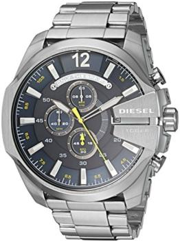 Diesel Herren Chronograph Quarz Uhr mit Edelstahl Armband DZ4465 - 1