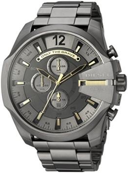 Diesel Herren Chronograph Quarz Uhr mit Edelstahl Armband DZ4466 - 1