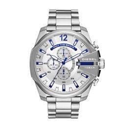 Diesel Herren Chronograph Quarz Uhr mit Edelstahl Armband DZ4477 - 1