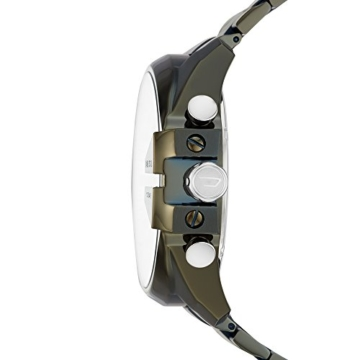 Diesel Herren Chronograph Quarz Uhr mit Edelstahl Armband DZ4478 - 2