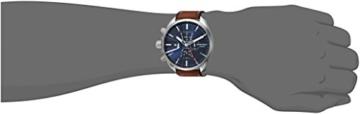 Diesel Herren Chronograph Quarz Uhr mit Leder Armband DZ4470 - 3