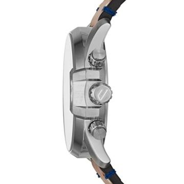 Diesel Herren Chronograph Quarz Uhr mit Leder Armband DZ4470 - 5