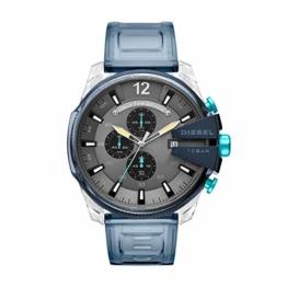 Diesel Herren Chronograph Quarz Uhr mit PU Armband DZ4487 - 1
