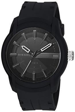 Diesel Herren Quarz Uhr mit Silikon Armband DZ1830 - 1