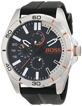 Hugo Boss Orange Herren Armbanduhr, Quarz, mehrere Zähler auf dem Zifferblatt, Silikonarmband -  1513290 - 1