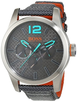 Hugo Boss Orange Paris Herren-Armbanduhr Quartz Analog mit blauem Textil Armband  1513379 - 1