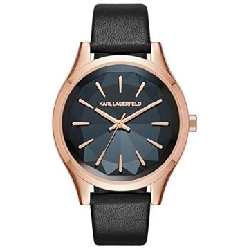 Karl Lagerfeld–Belleville–Uhr–Schwarz - 1
