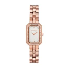 Karl Lagerfeld Damen Analog Quarz Smart Watch Armbanduhr mit Edelstahl Armband KL6107 - 1