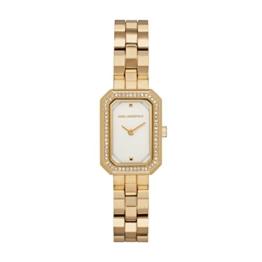 Karl Lagerfeld Damen Analog Quarz Smart Watch Armbanduhr mit Edelstahl Armband KL6106 - 1