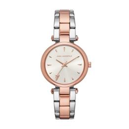 Karl Lagerfeld Damen Analog Quarz Smart Watch Armbanduhr mit Edelstahl Armband KL5008 - 1