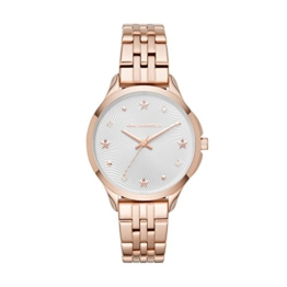 Karl Lagerfeld Damen Analog Quarz Uhr mit Edelstahl Armband KL3011 - 1