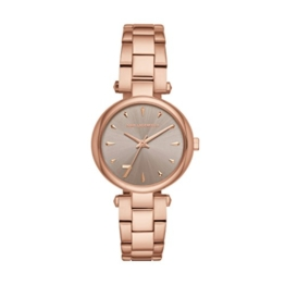 Karl Lagerfeld Damen Analog Quarz Uhr mit Edelstahl Armband KL5005 - 1