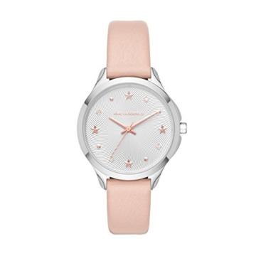 Karl Lagerfeld Damen Analog Quarz Uhr mit Leder Armband KL3012 - 1