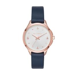 Karl Lagerfeld Damen Analog Quarz Uhr mit Leder Armband KL3013 - 1