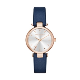 Karl Lagerfeld Damen Analog Quarz Uhr mit Leder Armband KL5007 - 1