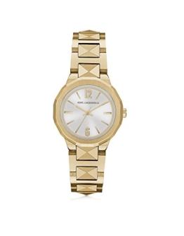 Karl Lagerfeld Damen Kl3403 Gold Stahl Uhr - 1