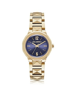 Karl Lagerfeld Damen Kl3407 Gold Stahl Uhr - 1