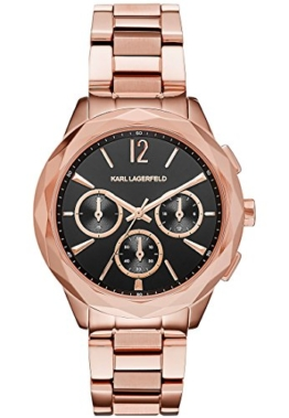 Karl lagerfeldoptik – Chronograph – rosà © gold-coloured - 1
