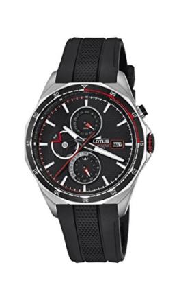Lotus Herren Analog Quarz Uhr mit Plastik Armband 18321/4 - 1