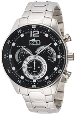 Lotus Herren-Armbanduhr Analog Quarz Edelstahl 10120/4 - 1
