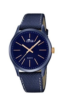 Lotus Herren-Armbanduhr Smart Casual Analog Quarz Verschiedene Materialien 18166/2 - 1