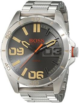Hugo Boss Orange Berlin Herren-Armbanduhr Quartz Analog mit Edelstahlarmband 1513317 - 1
