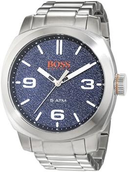 Hugo Boss Orange Cape Town Herren-Armbanduhr Analog mit Edelstahl Armband 1513419 - 1