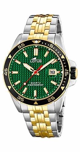 Lotus Herren-Armbanduhr 18652/2 Stahl zweifarbig - 1