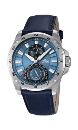 Lotus Herren-Armbanduhr Analog Quarz Leder 15844/2 - 1