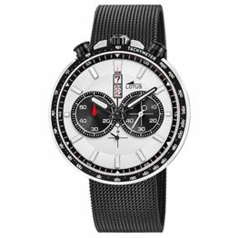 LOTUS Herren Uhr Sport 10139/1 Edelstahl Armbanduhr Khrono schwarz UL10139/1 - 1