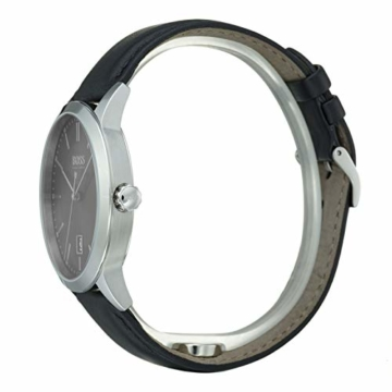 Hugo Boss Herren Analog Quarz Uhr mit Leder Armband 1513611 - 3