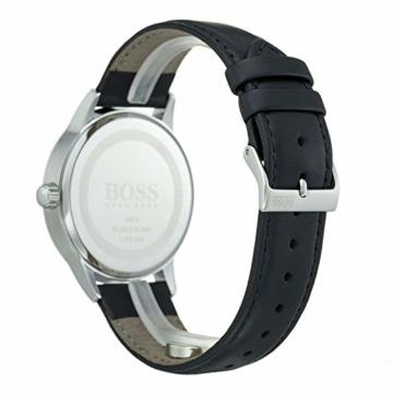 Hugo Boss Herren Analog Quarz Uhr mit Leder Armband 1513611 - 4