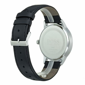 Hugo Boss Herren Analog Quarz Uhr mit Leder Armband 1513611 - 5